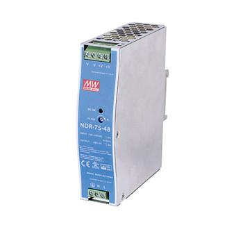 Vivotek NDR-75-48 75W Single Output Industrial DIN Rail Power Supply