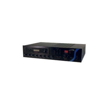 Speco PBM60AT 60W RMS P.A. Amplifier with AM/FM Tuner