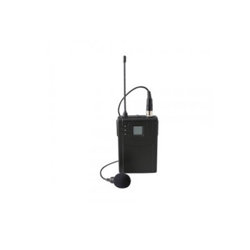 Speco MUHFLP UHF 700 frequency-Selectable Lapel Microphone