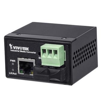 Vivotek AW-IHS-0201 Industrial Media Convert SC Single Mode 30KM