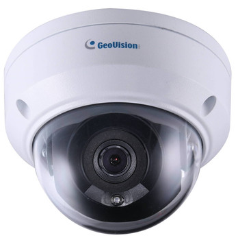 Geovision GV-ADR4701 4MP IR H.265 Outdoor Mini Dome IP Security Camera 84-ADR470W-0010