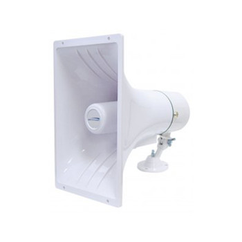 "Speco SPC40RT 6.5"" x 11"" 70/25V Weatherproof ABS PA Speaker Horn"