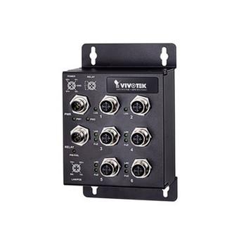 Vivotek AW-IHT-0602 Industrial EN50155 4xFE M12 PoE + 2xFE M12 Switch