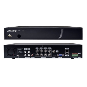 Speco D8VX1TB 8 Channel HD-TVI Digital Video Recorder - 1TB HDD included