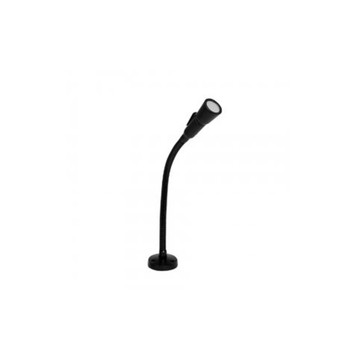 Speco MGS1 Dynamic Gooseneck Microphone with Push-To-Talk Switch