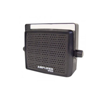 Speco AES4 10W Amplified Deluxe Professional Communications Extension Speaker