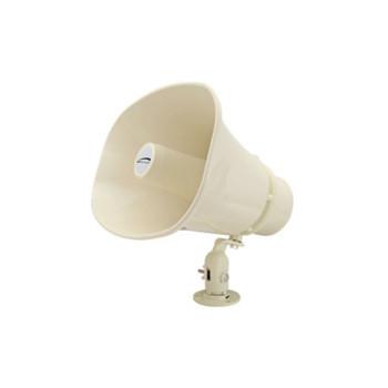 "Speco SPC15RT 8"" x 6"" Weather-Resistant P.A. Horn Speaker - 70/25V"