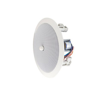 "Speco SPG86TC 86 Series - 8"" 70/25V Modern Grille In-Ceiling Speaker with Volume Control Knob"