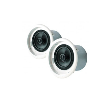 "Speco SP5NXCTUL NEXUS UL Contractor Series 5.25"" 70V Commercial Metal Back Can Speakers"