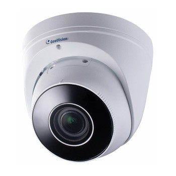 Geovision GV-EBD8711 8MP H.265 IR Outdoor Eyeball IP Security Camera with 4.3x Zoom and WDR Pro