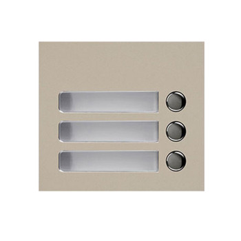 Aiphone GF-3P 3-Call Button Panel for GT-SW
