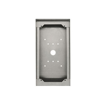 Aiphone SBX-DVF-P Stainless Steel Surface Mount Box for Card Reader Door Stations