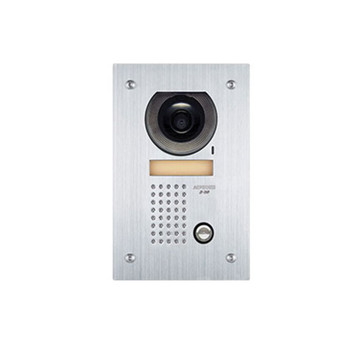 Aiphone JF-DVF Video Door Station, Flush Mount Stainless Steel