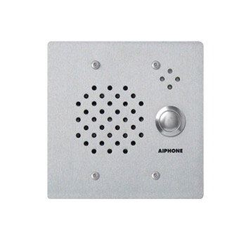 Aiphone IE-SS/A Stainless Steel Vandal and Weather Resistant 2-Gang Door Station, Flush Mount