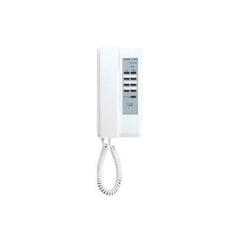 Aiphone IE-8MD Selective Call Main Handset for 2 Doors, Up To 6 Rooms