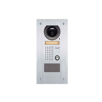 Aiphone JF-DVF-HID Video Door Station with HID ProxPoint Plus Reader, Flush Mount Stainless Steel