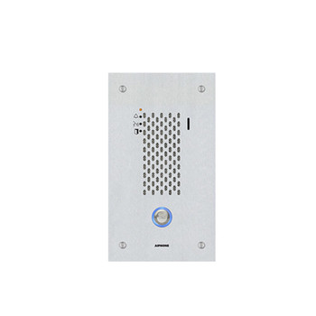 Aiphone IX-SSA SIP Compatible Flush Mounted IP Door Station - Vandal Resistant Stainless Steel Cover