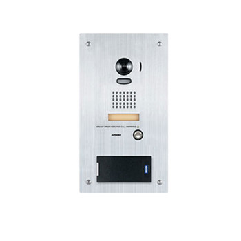 Aiphone IS-DVF-RP10 Stainless Steel Video Door Station with HID multiCLASS SE Proximity Card Reader, Flush Mount