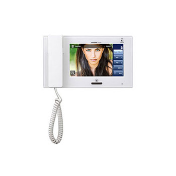 """Aiphone JP-4HD 7"""" Video Sub Master Station with Touchscreen LCD"""