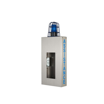 Aiphone WB-CA Wall Box with Caged Light and ASSISTANCE Lettering