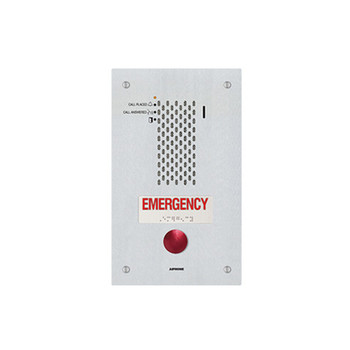 Aiphone IX-SSA-RA SIP Compatible IP Emergency Station - ADA Compliant with a Single Emergency Call Button