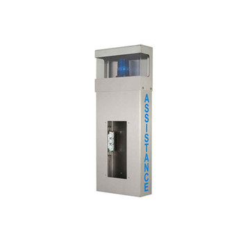 Aiphone WB-HA Wall Box with Hooded Light and ASSISTANCE Lettering