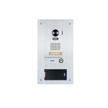 Aiphone IS-IPDVF-RP10 IP Video Door Station with HID RP10 multiClass Reader, Flush Mount Stainless Steel