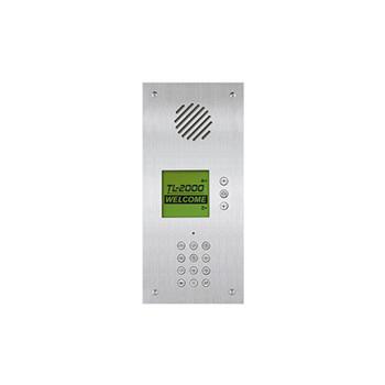 Aiphone TL-2000 Telephone Multi-Tenant Entry Panel, Flush Mount