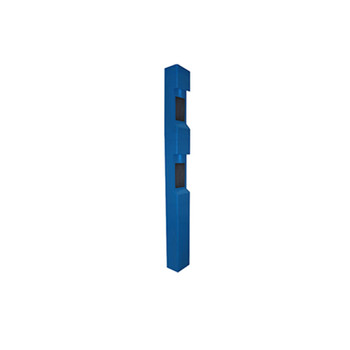 Aiphone TW-22B/A 3-Module Dual-Intercom Tower, Blue