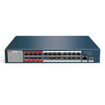 Hikvision DS-3E0326P-E/M 24 Channel Unmanaged PoE Switch
