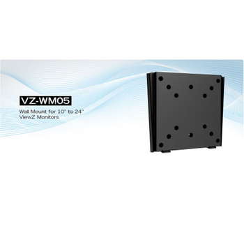 """ViewZ VZ-WM05 10"""" to 24"""" Wall Mount"""