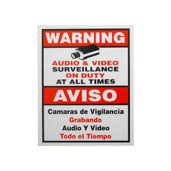 LTS LTSIGNB Warning Sign B