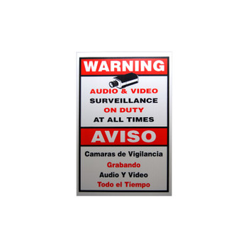 LTS LTSIGNA Warning Sign A