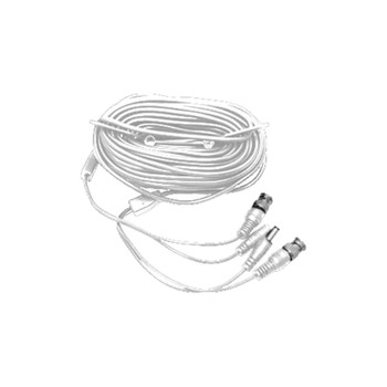 LTS LTAC2150W Pre-made Siamese Cable with Connectors - 150ft White