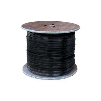 LTS LTAC2032B Coaxial Siamese Cable w/o Connectors - 1000ft Black
