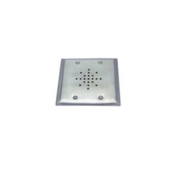 "ETS DGS-3 3"" Speaker on a Double Gang Stainless Steel Plate"