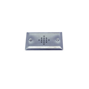 """ETS SGS-15 1.5"""" Speaker on a Single Gang Stainless Steel Plate"""