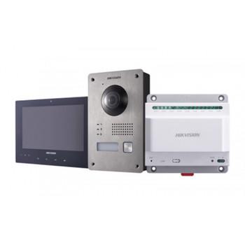 Hikvision DS-KIS701 Two-Wire Video Intercom Bundle