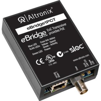 Altronix eBridge1PCT EoC Single Port Transceiver - 25Mbps