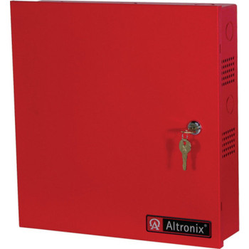Altronix AL400ULMR Access Power Distribution Module with Power Supply/Charger - 5 PTC Class 2 Outputs
