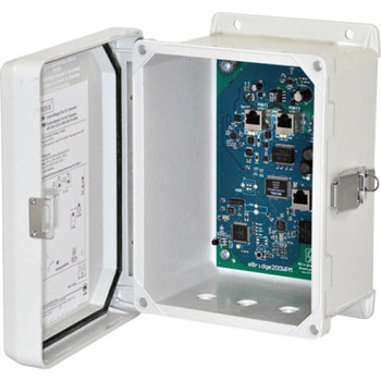 Altronix eBridge200WPMH EoC or Long Range Ethernet 2 Port Transceiver - Outdoor