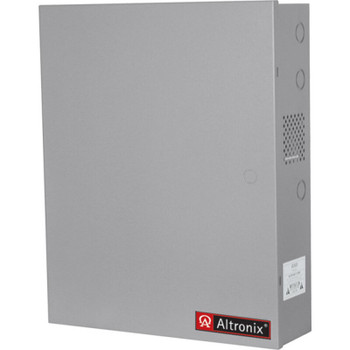 Altronix AL1012ULACMCBJ Access Power Controller with Power Supply/Charger - 8 PTC Class 2 Relay Outputs