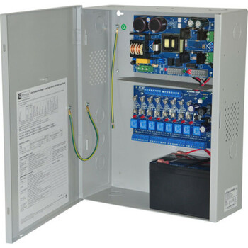 Altronix eFlow102NA8 Access Power Controller with Power Supply/Charger - 8 Fused Relay Outputs