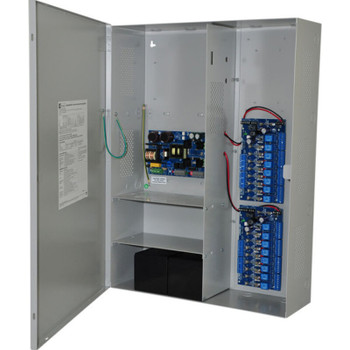 Altronix Maximal5F Access Power Controller with Power Supply/Charger - 16 Fused Relay Outputs