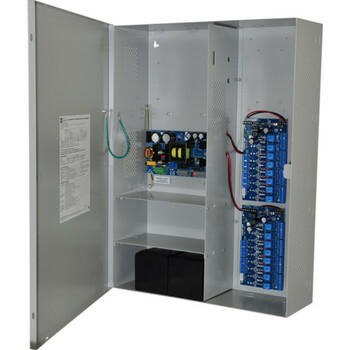 Altronix Maximal7FD Access Power Controller with Power Supply/Charger - 16 PTC Class 2 Relay Outputs