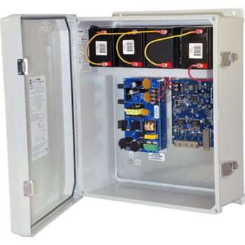 Altronix NetWay4EWPX Single 1G Fiber SFP - 4 port 10/100 PoE/PoE+ configurable for 2x 60W Hi-PoE; Hardened