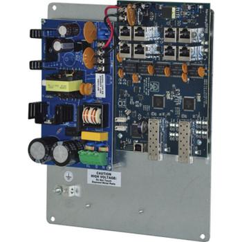Altronix NetWaySP8PL Dual 1G Fiber SFP - 2 ports 10/100/1000 PoE/PoE+