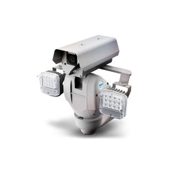 Pelco ES6230-12P-R2 2MP IR Outdoor PTZ IP Security Camera with Pressurized & Wiper, 48 VDC