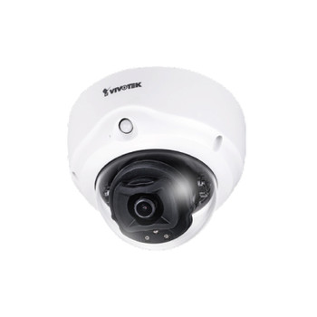 Vivotek FD9187-H 5MP H.265 IR Indoor Dome IP Security Camera with 2.8mm Fixed Lens