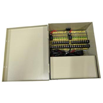 LTS DV-AT1212A-D18 18 Port 12 Amp Indoor Power Supply, 12VDC Fuse